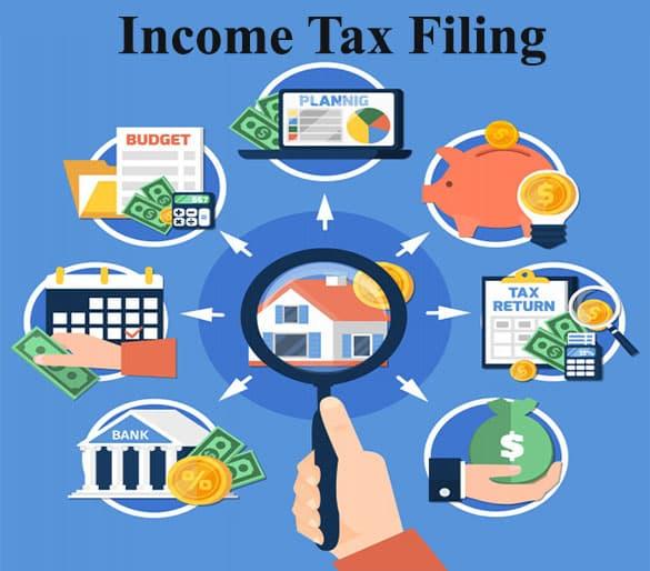 Income tax, tax, income tax filing