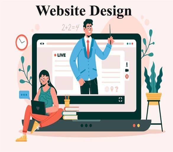 Website, Website design, Website development